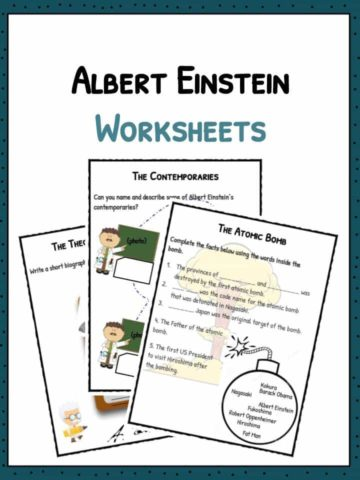 Albert Einstein Worksheets