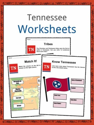 Tennessee Worksheets