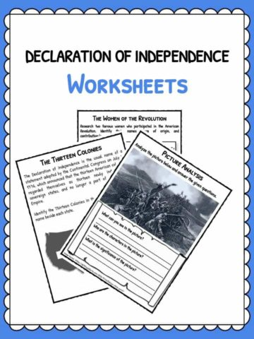 declaration-of-independence-worksheets