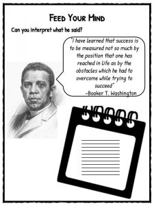 biography of booker t washington an african american educator author orator and advisor to president Booker t washington was an african american orator, advisor to the united states president and author from the years 1890 up until 1950, washington played the role of a leader in the.