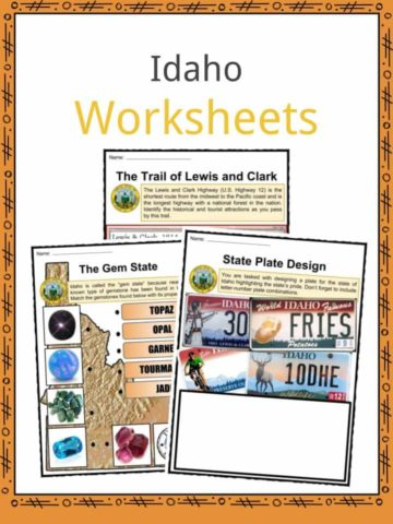 Idaho Worksheets