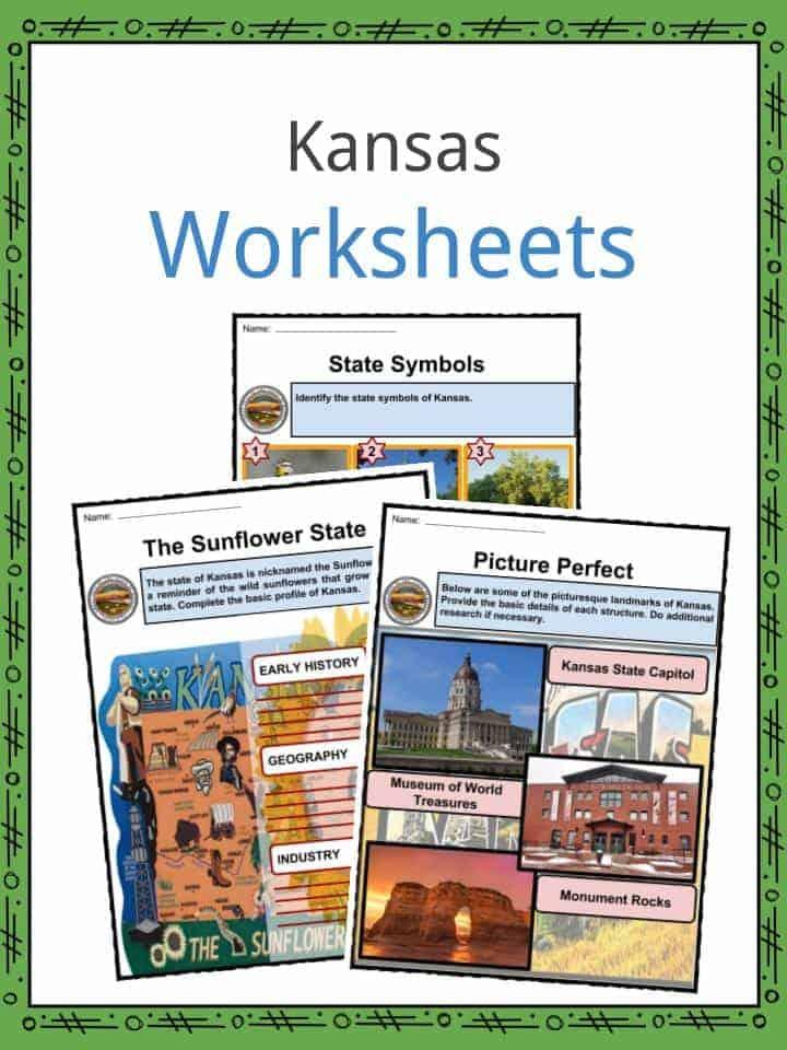 Kansas Worksheets