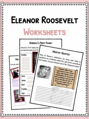 Eleanor Roosevelt Worksheets