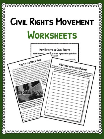 civil essay movement research right