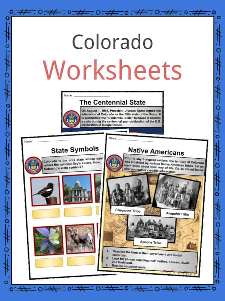 download the colorado facts worksheets