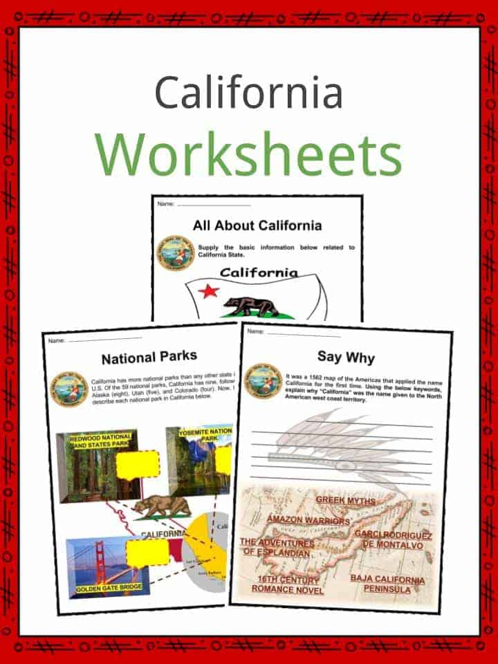 California Worksheets