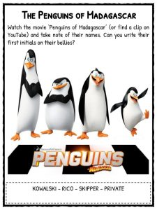 penguin facts worksheets species information for kids pdf  the penguins of