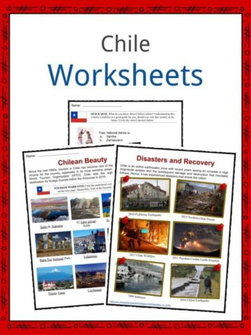 Chile Worksheets