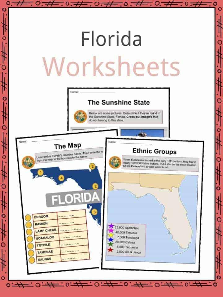 Florida Worksheets