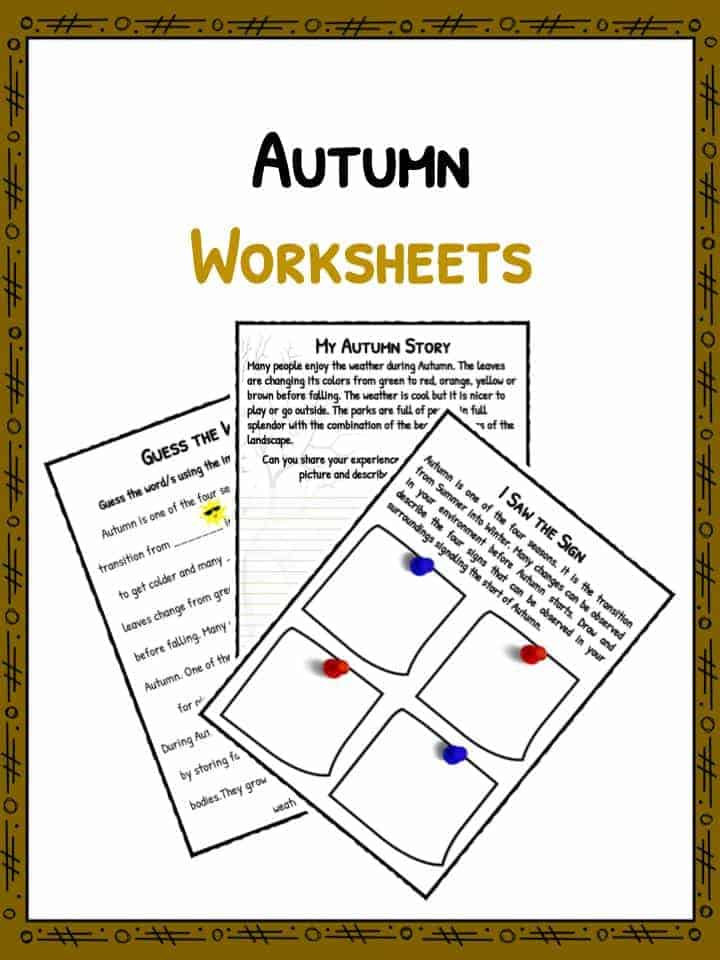 Translations Into Italian: Autumn Facts & Information Worksheets