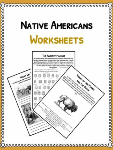 native-americans-worksheets