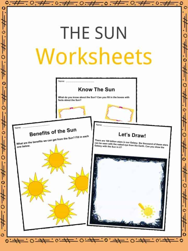 The Sun Facts Worksheets Key Information For Kids – Sun Worksheet