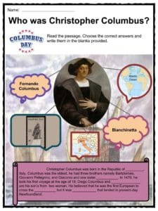 Columbus Day Facts, Worksheets & Historical Significance ...