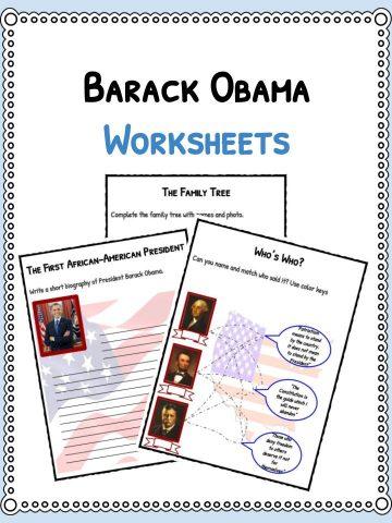 Barack Obama Worksheets