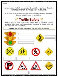 PrimaryLeap.co.uk - Road safety Worksheet | school | Pinterest ...