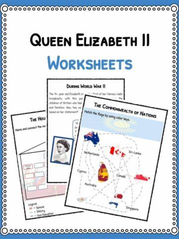 Queen Elizabeth II Worksheets