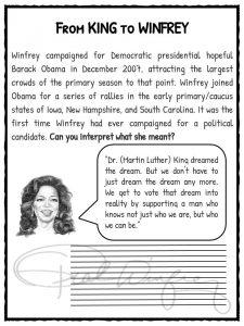 Oprah Winfrey Facts Biography Information Amp Worksheets