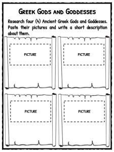 Ancient Greece Worksheets, Facts & Information For Kids