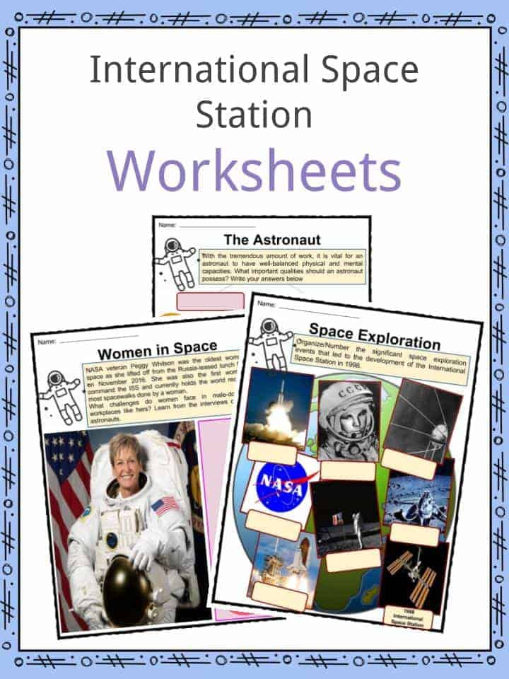 Printable Worksheets space exploration worksheets : International Space Station Facts, Worksheets & Historic ...