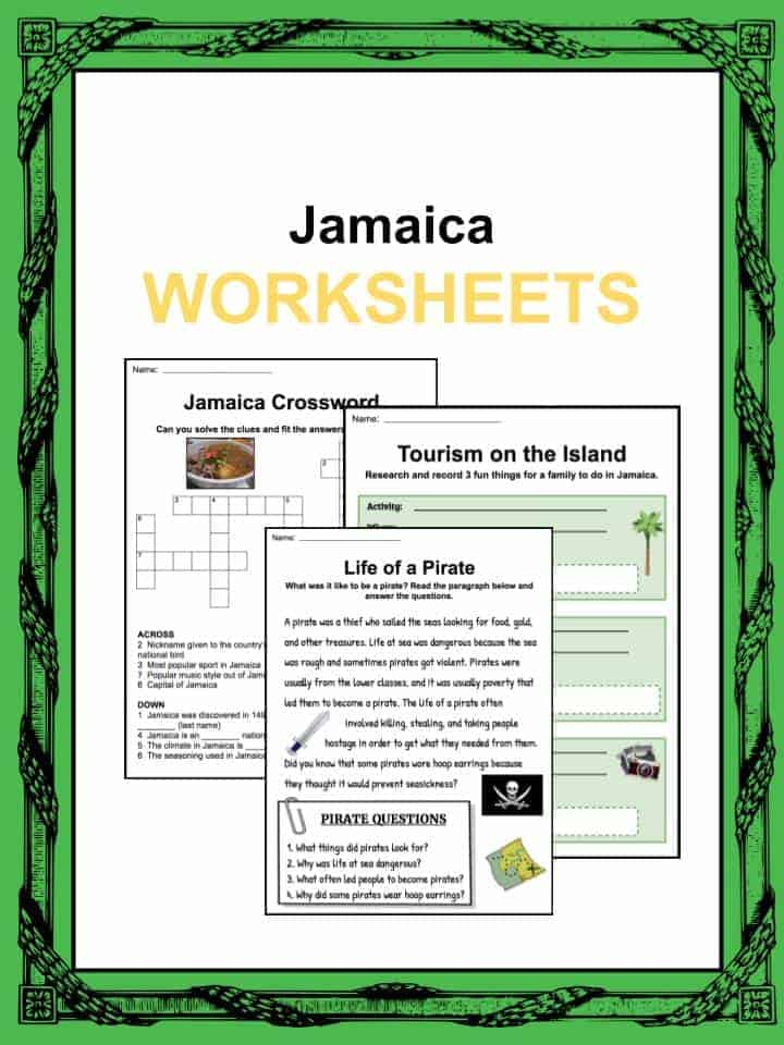 Jamaica Worksheets