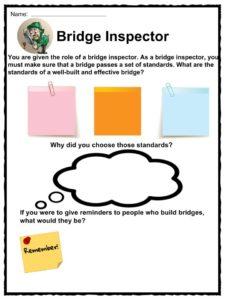Bridge Facts, Worksheets & Historic Information For Kids