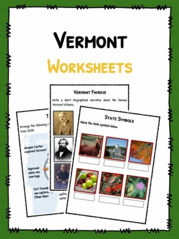 Vermont Worksheets