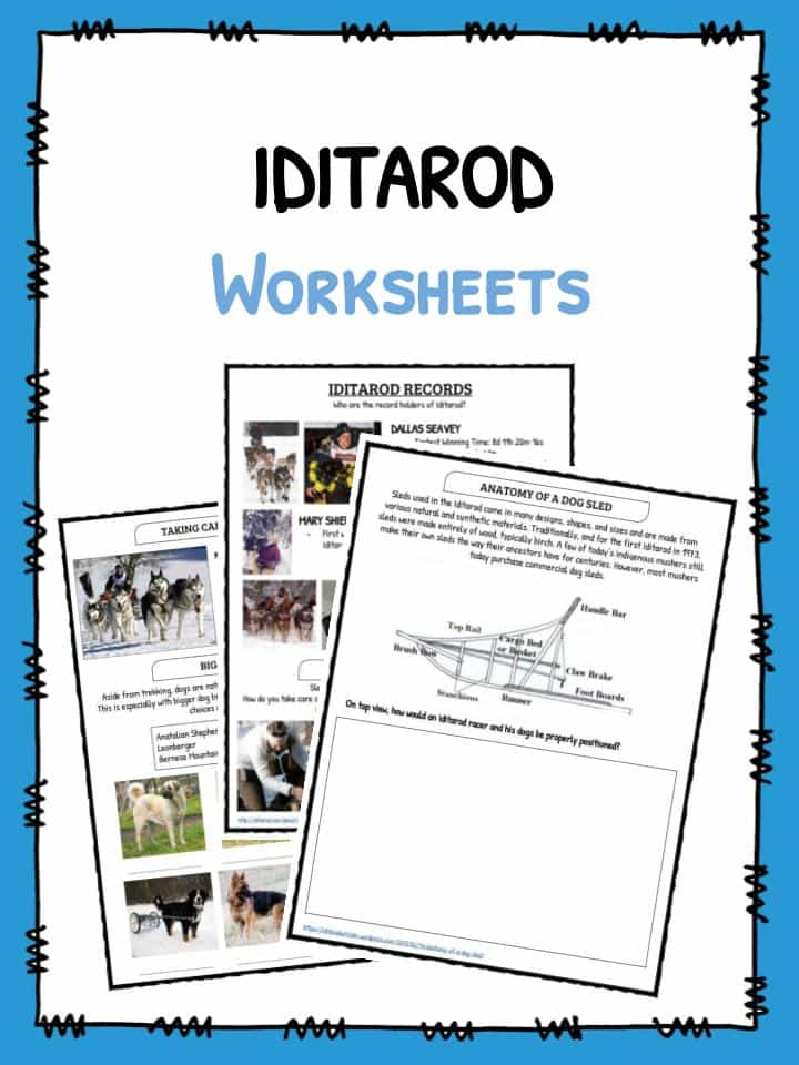 Download The Iditarod 2018 Facts Worksheets