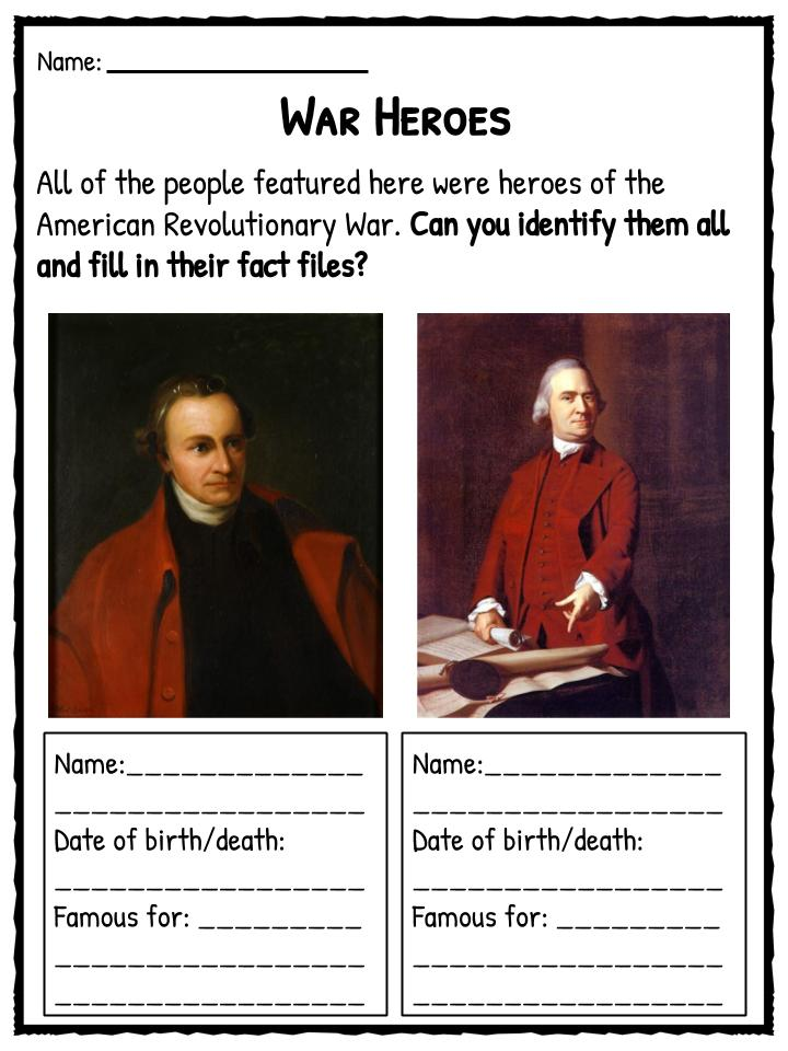 revolutionary war essay introduction