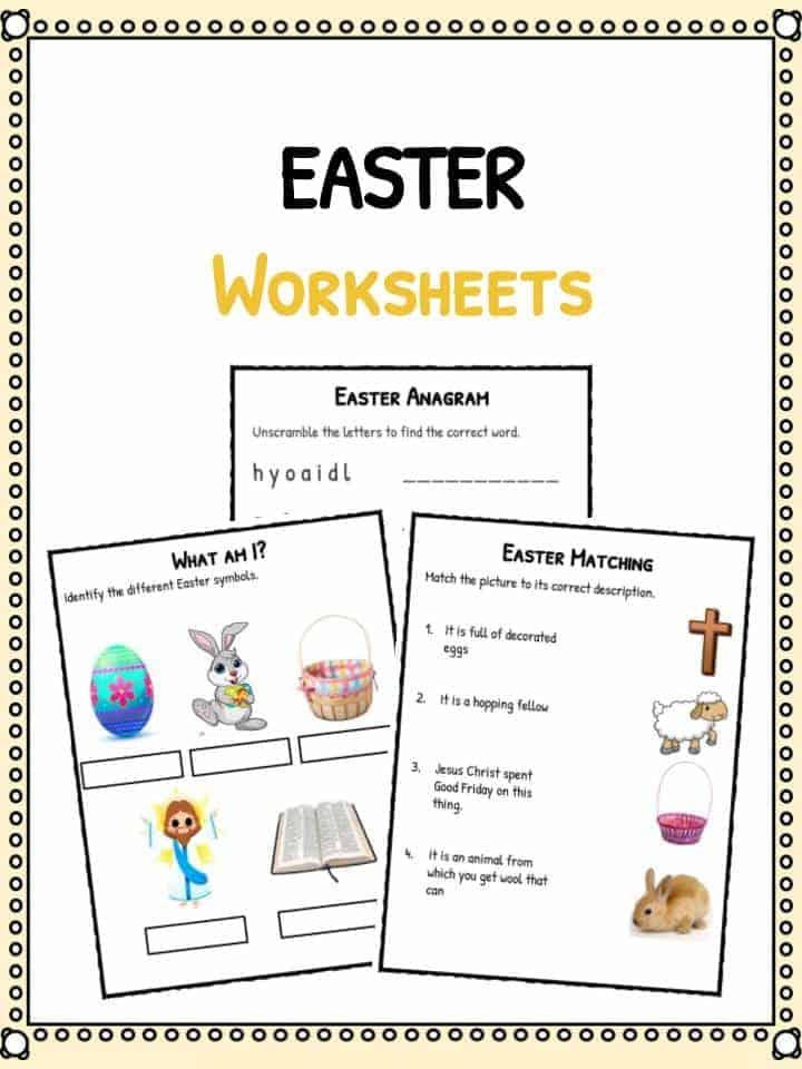 Easter Facts Worksheets Fun Information For Kids – Easter Worksheets