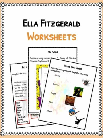Ella Fitzgerald Worksheets