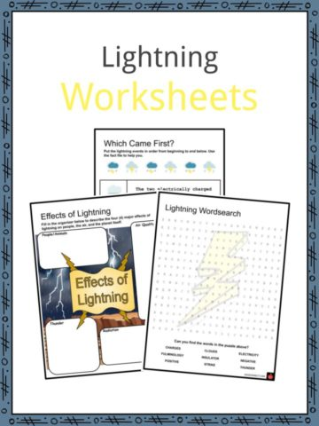Lightning Worksheets