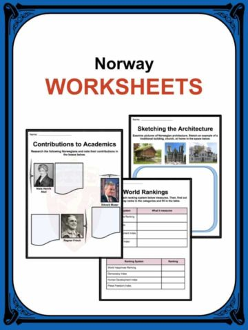 Norway Worksheets