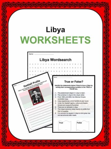 Libya Worksheets