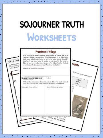 SOJOURNER TRUTH Worksheet