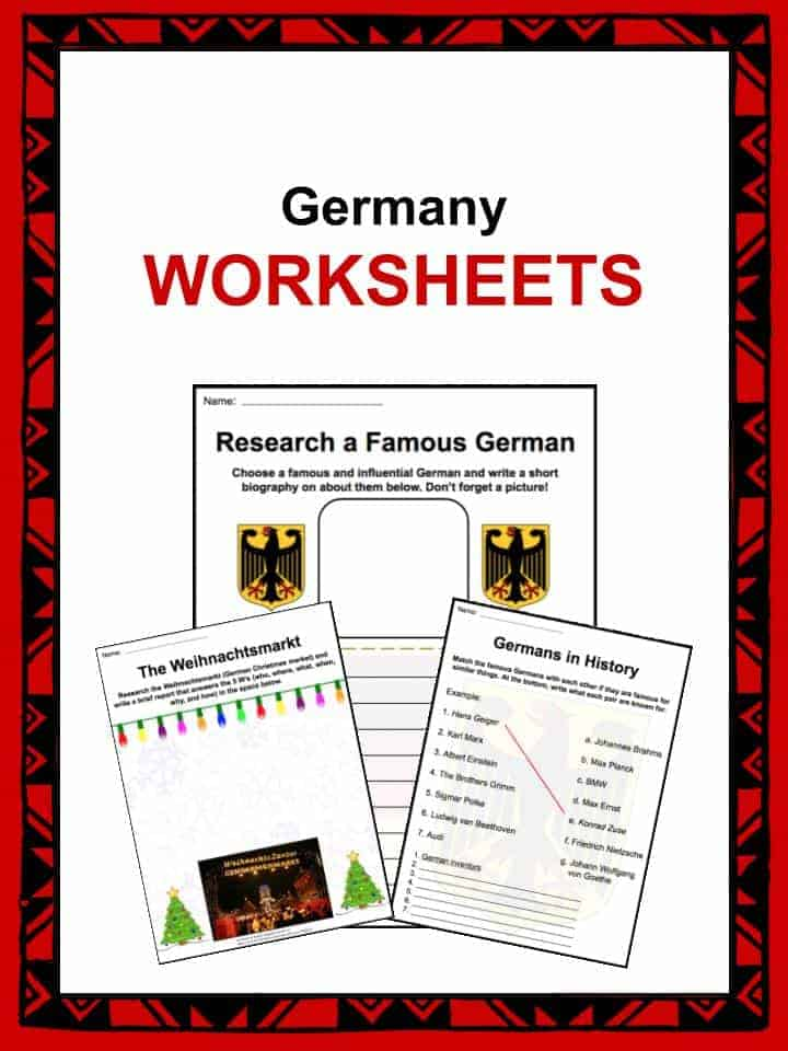 germany facts worksheets history economy geography for kids. Black Bedroom Furniture Sets. Home Design Ideas
