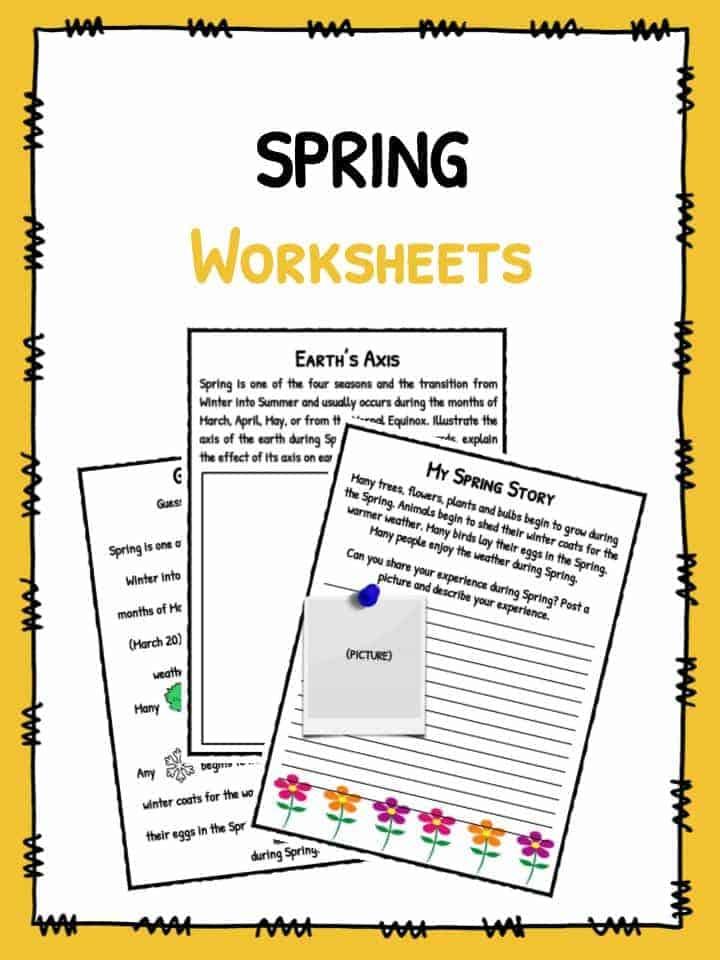 Spring Facts Worksheets Historical Information For Kids – Spring Worksheets