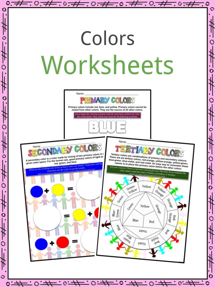 Colors Worksheets