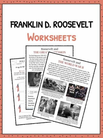 FRANKLIN D. ROOSEVELT Worksheet
