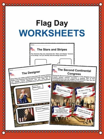 Flag Day Worksheets