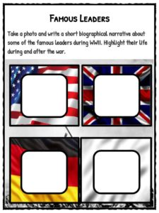 world war ii ww2 facts worksheets teaching resource. Black Bedroom Furniture Sets. Home Design Ideas
