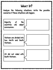 Vietnam War Facts, Information  Worksheets  Lesson Plans