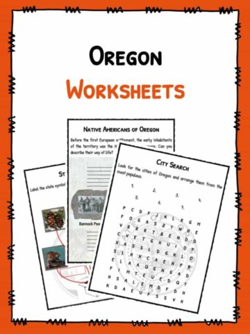 Oregon Worksheets