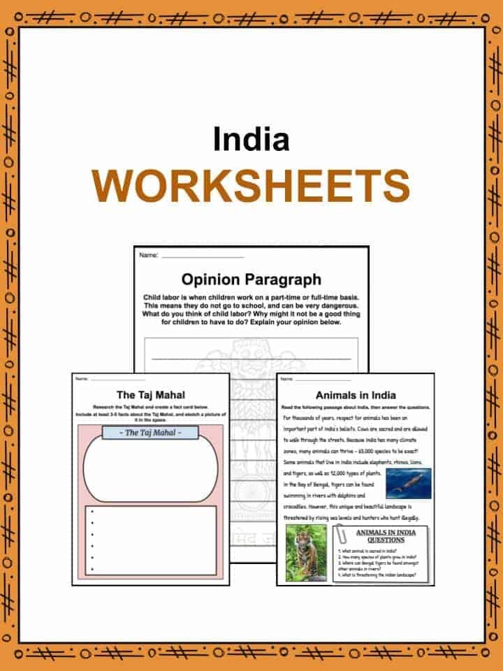 india facts worksheets history culture geography for kids. Black Bedroom Furniture Sets. Home Design Ideas