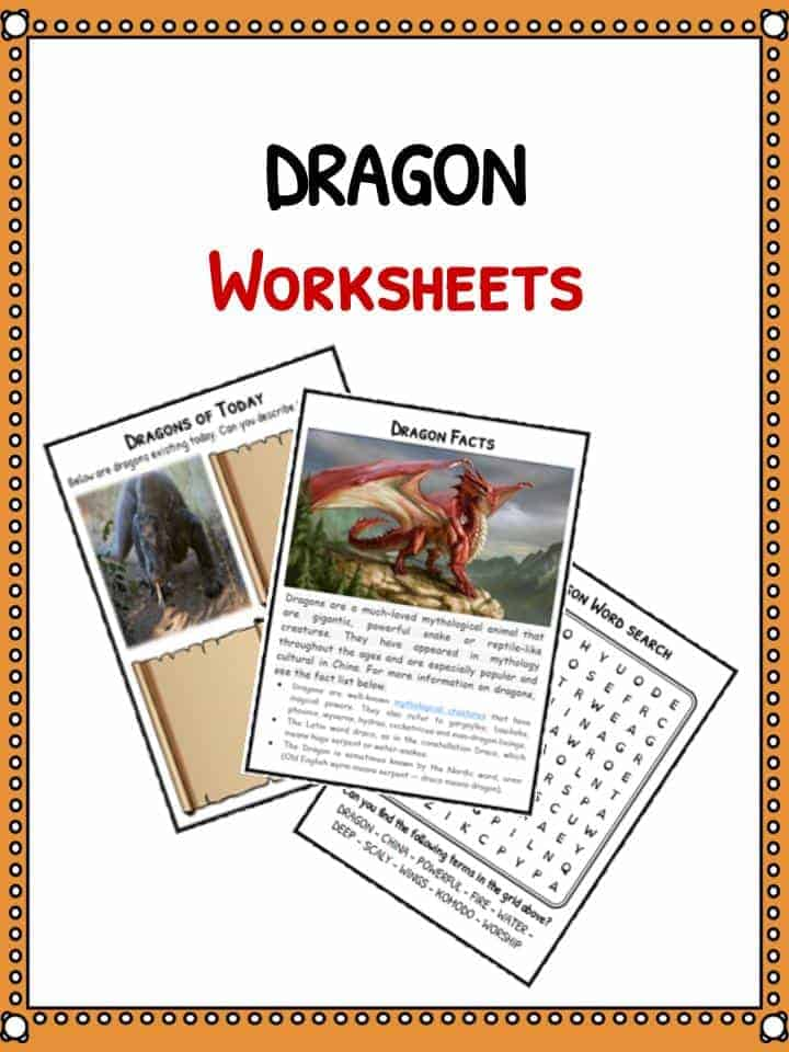 Dragon Facts & Worksheets