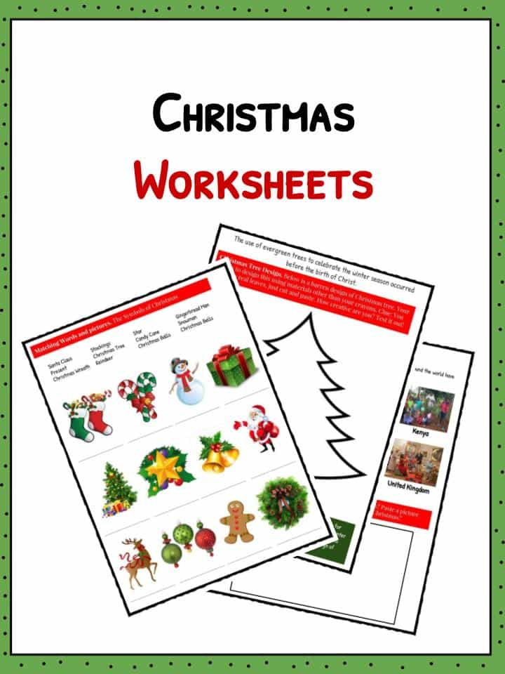 Christmas Facts Information  Worksheets For Kids  Teaching Resource