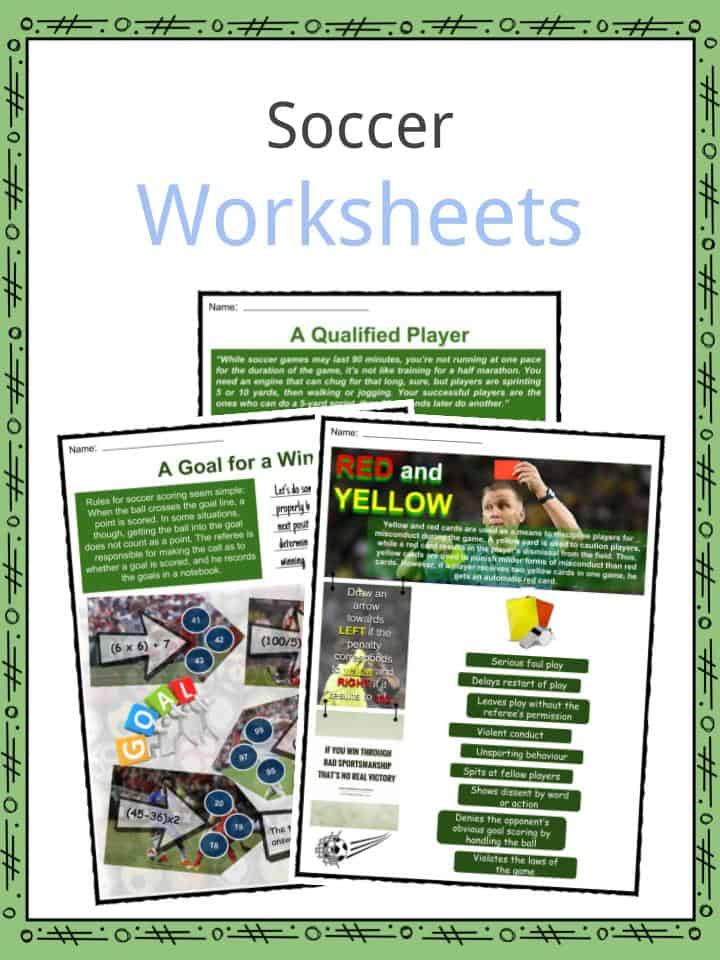 Soccer Worksheets