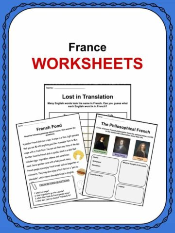 France Worksheets
