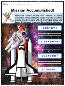 space shuttle mission sequence worksheet - photo #32