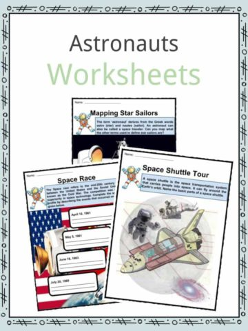 Astronauts Worksheets