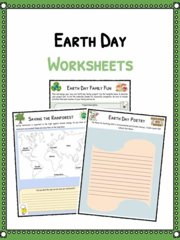 Earth Day Facts & Worksheets